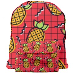 Fruit Pineapple Red Yellow Green Giant Full Print Backpack by Alisyart