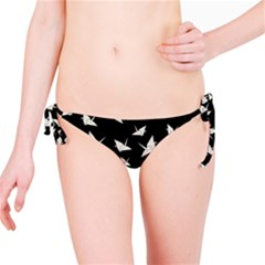 Paper Cranes Pattern Bikini Bottom by Valentinaart