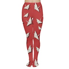 Paper Cranes Pattern Women s Tights