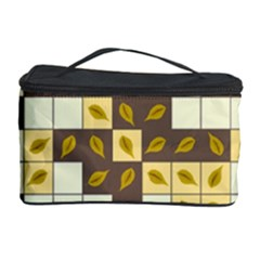 Autumn Leaves Pattern Cosmetic Storage Case by linceazul