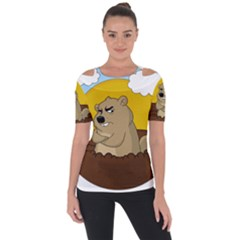 Groundhog Day Short Sleeve Top