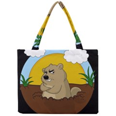 Groundhog Day Mini Tote Bag by Valentinaart