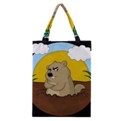 Groundhog Day Classic Tote Bag by Valentinaart