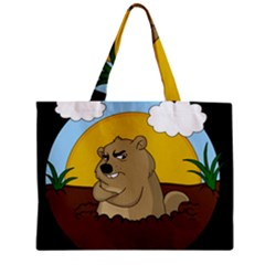 Groundhog Day Zipper Mini Tote Bag by Valentinaart