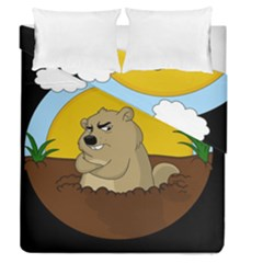 Groundhog Day Duvet Cover Double Side (queen Size)