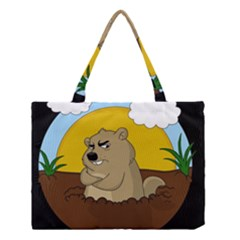 Groundhog Day Medium Tote Bag by Valentinaart