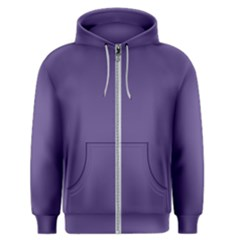 Color Of The Year 2018   Ultraviolet   Pure&basic Men s Zipper Hoodie by tarastyle