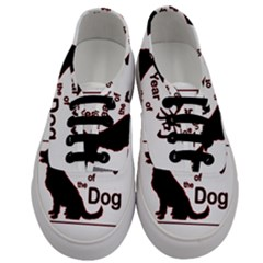 Year Of The Dog   Chinese New Year Men s Classic Low Top Sneakers