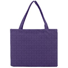 Color Of The Year 2018   Ultraviolet   Art Deco Black Edition Mini Tote Bag by tarastyle