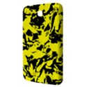 Yellow Black Abstract Military Camouflage Samsung Galaxy Tab 3 (7 ) P3200 Hardshell Case  View3