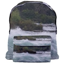 Sightseeing At Niagara Falls Giant Full Print Backpack by canvasngiftshop