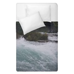 Sightseeing At Niagara Falls Duvet Cover Double Side (single Size) by canvasngiftshop