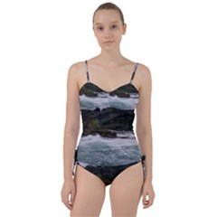 Sightseeing At Niagara Falls Sweetheart Tankini Set