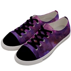 Ultra Violet Dream Girl Men s Low Top Canvas Sneakers by 8fugoso