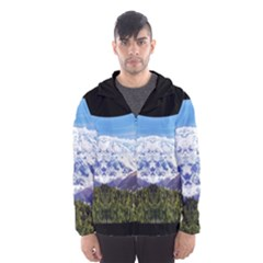 Mountaincurvemore Hooded Wind Breaker (men) by TestStore4113