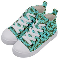 Pluto Venus Time Kid s Mid Top Canvas Sneakers by MRTACPANS