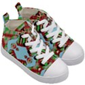 Digital Dot One Kid s Mid-Top Canvas Sneakers View3