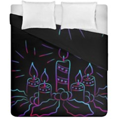 Advent Wreath Candles Advent Duvet Cover Double Side (california King Size) by Nexatart