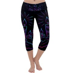 Advent Wreath Candles Advent Capri Yoga Leggings