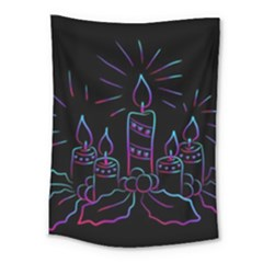 Advent Wreath Candles Advent Medium Tapestry