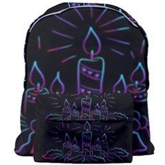 Advent Wreath Candles Advent Giant Full Print Backpack