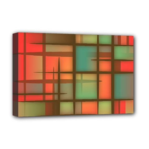 Background Abstract Colorful Deluxe Canvas 18  X 12