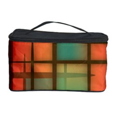 Background Abstract Colorful Cosmetic Storage Case