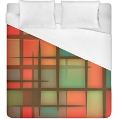 Background Abstract Colorful Duvet Cover (king Size) by Nexatart