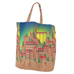 Mountain Village Mountain Village Giant Grocery Zipper Tote