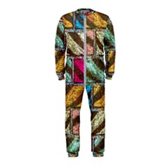 Colorful Painted Bricks Street Art Kits Art Onepiece Jumpsuit (kids) by Costasonlineshop