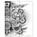 Forest Patrol Tribal Abstract Apple iPad Mini Flip Case View1