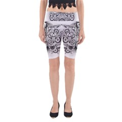 Forest Patrol Tribal Abstract Yoga Cropped Leggings by Nexatart