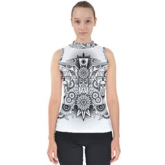 Forest Patrol Tribal Abstract Shell Top