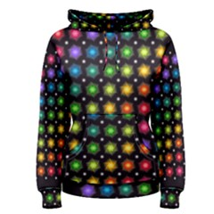 Background Colorful Geometric Women s Pullover Hoodie by Nexatart
