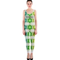Background Colorful Geometric Onepiece Catsuit