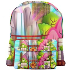 Zen Garden Japanese Nature Garden Giant Full Print Backpack