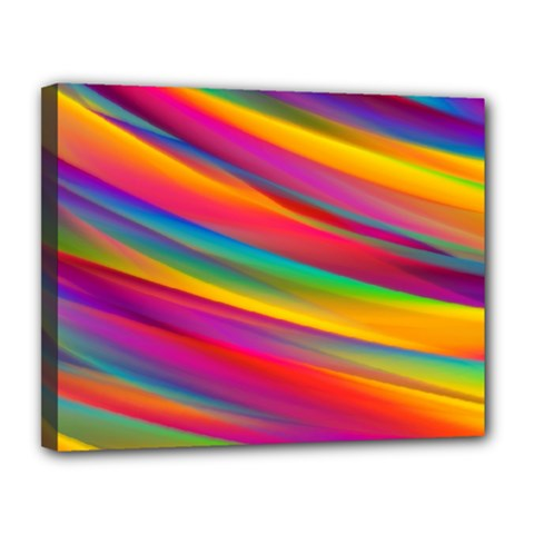 Colorful Background Canvas 14  X 11  by Nexatart