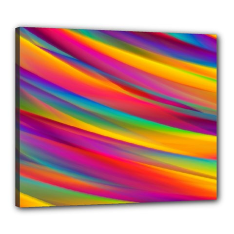 Colorful Background Canvas 24  X 20  by Nexatart