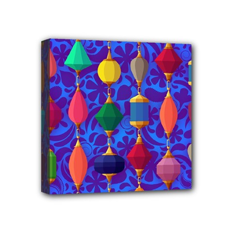 Colorful Background Stones Jewels Mini Canvas 4  X 4
