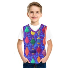 Colorful Background Stones Jewels Kids  Sportswear