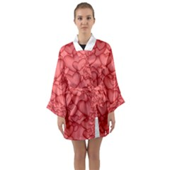 Background Hearts Love Long Sleeve Kimono Robe by Nexatart
