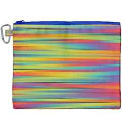 Colorful Background Canvas Cosmetic Bag (xxxl) by Nexatart