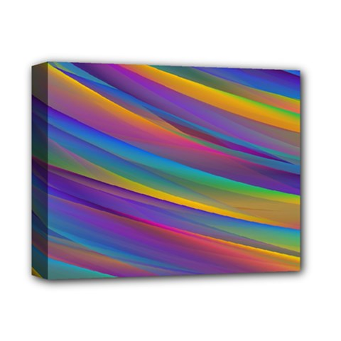 Colorful Background Deluxe Canvas 14  X 11  by Nexatart