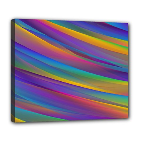 Colorful Background Deluxe Canvas 24  X 20   by Nexatart
