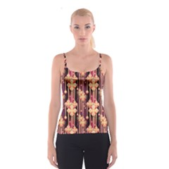 Seamless Pattern Patterns Spaghetti Strap Top