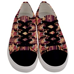Seamless Pattern Patterns Men s Low Top Canvas Sneakers