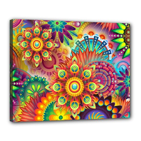 Colorful Abstract Background Colorful Canvas 20  X 16