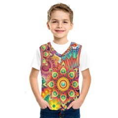Colorful Abstract Background Colorful Kids  Sportswear by Nexatart
