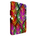 Abstract Background Colorful Leaves Samsung Galaxy Tab 3 (10.1 ) P5200 Hardshell Case  View2