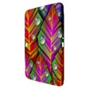 Abstract Background Colorful Leaves Samsung Galaxy Tab 3 (10.1 ) P5200 Hardshell Case  View3